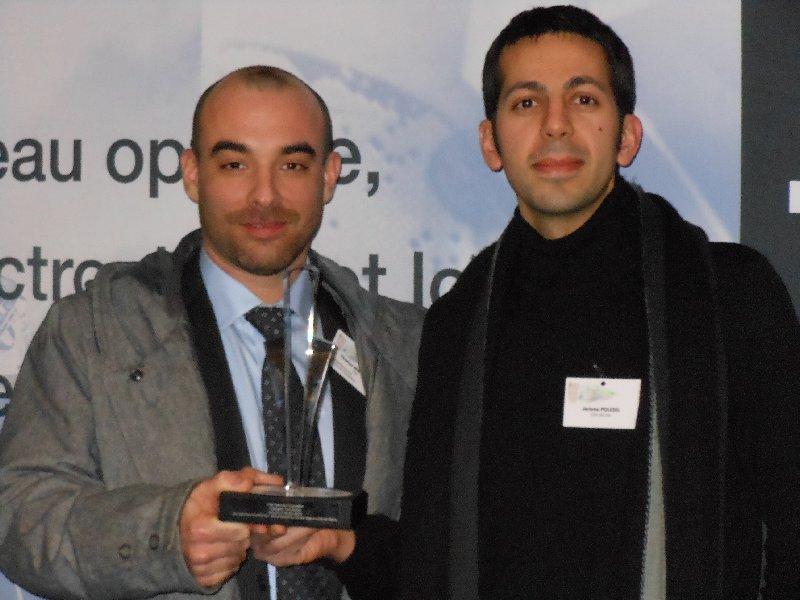 Prix fibre de l'Innovation  d'Optics Valley, catégorie recherche