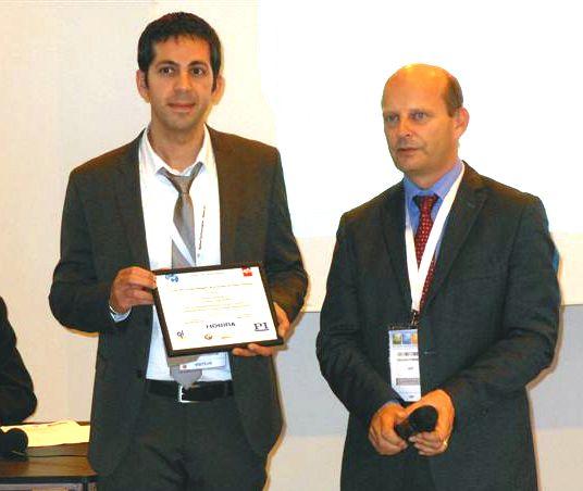 Prix d'instrumentation 2012 de la SFP-SFC à Jerome POLESEL