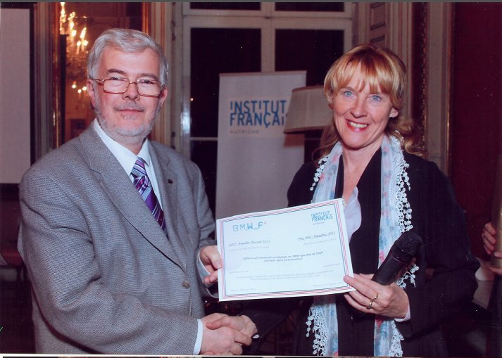 Prix PHC Amadeus (France-Autriche) 2013 à Hervé Desvaux et Norbert Müller
