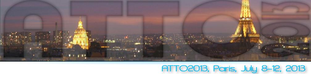 ATTO 2013 : Conférence Internationale sur la Physique Attoseconde du 8 au 12 juillet