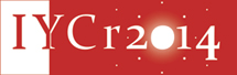 2014 : International year of crystallography