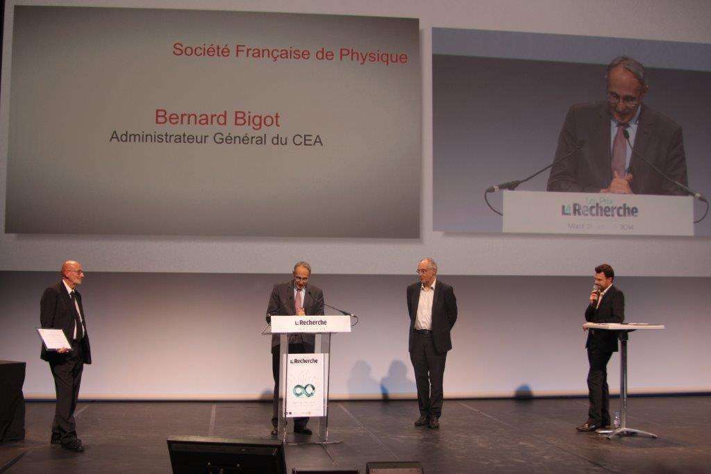 Remise du Grand Prix Jean Ricard de la SFP à Daniel Estève