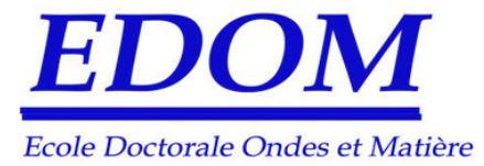 Prix de la meilleure présentation aux journées EDOM à Romain Géneaux du LIDyL