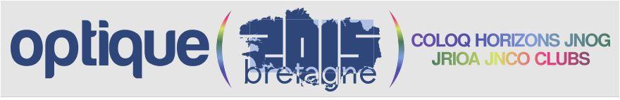 Congrès SFO / Année de la lumière : Optique Bretagne 2015