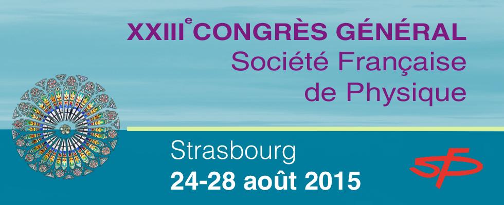 Sur vos agendas : Congrès général de la SFP -  24-28/08