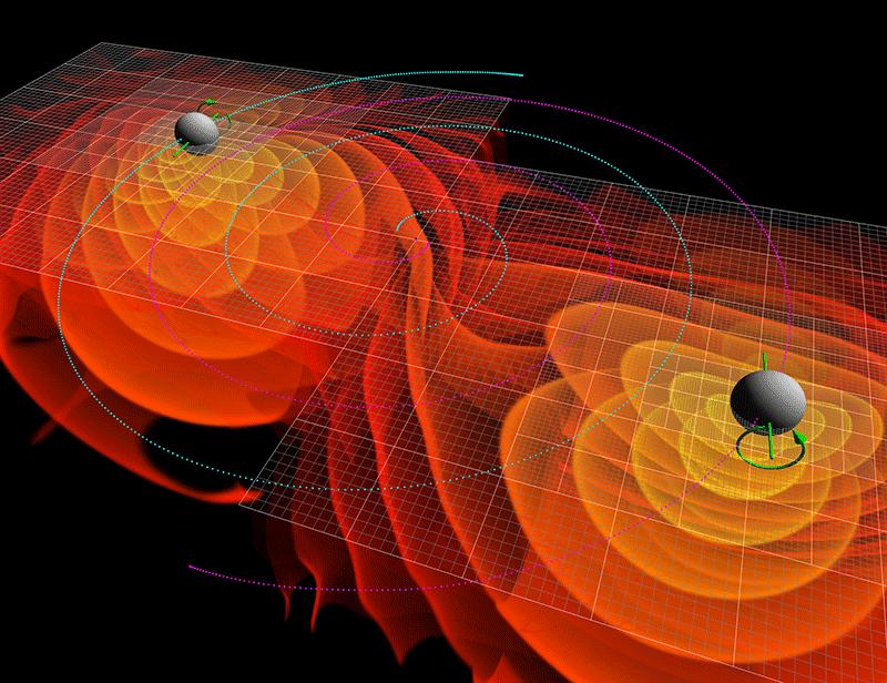Le PRL sur la détection des ondes gravitationnelles par les instruments LIGO