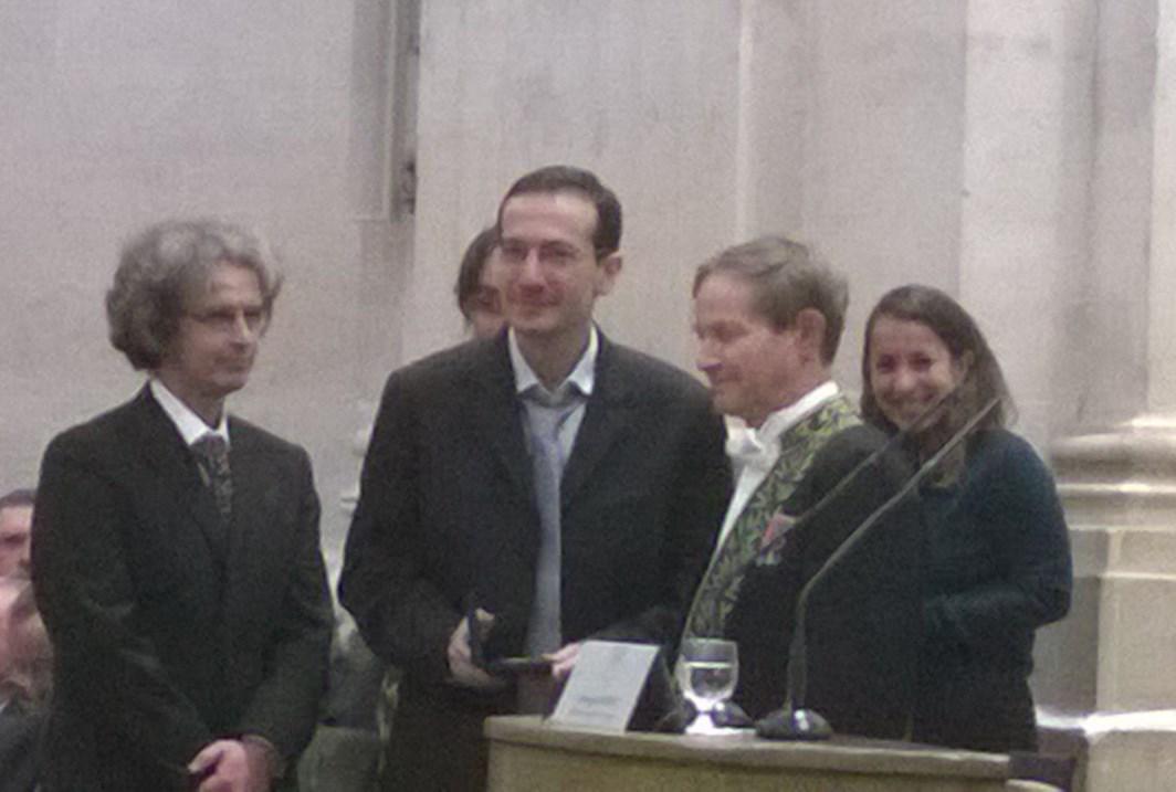 Prix Aniuta Winter-Klein 2016 de l'Académie des Sciences, décerné à Daniel Bonamy
