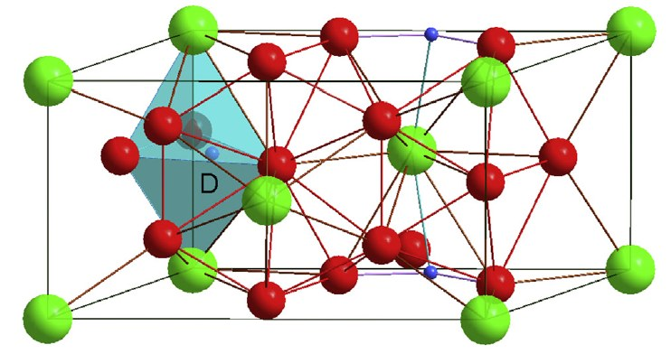 Properties of ZrNi5 deuteride synthesized under high pressure studied by neutron diffraction and first principles calculations
