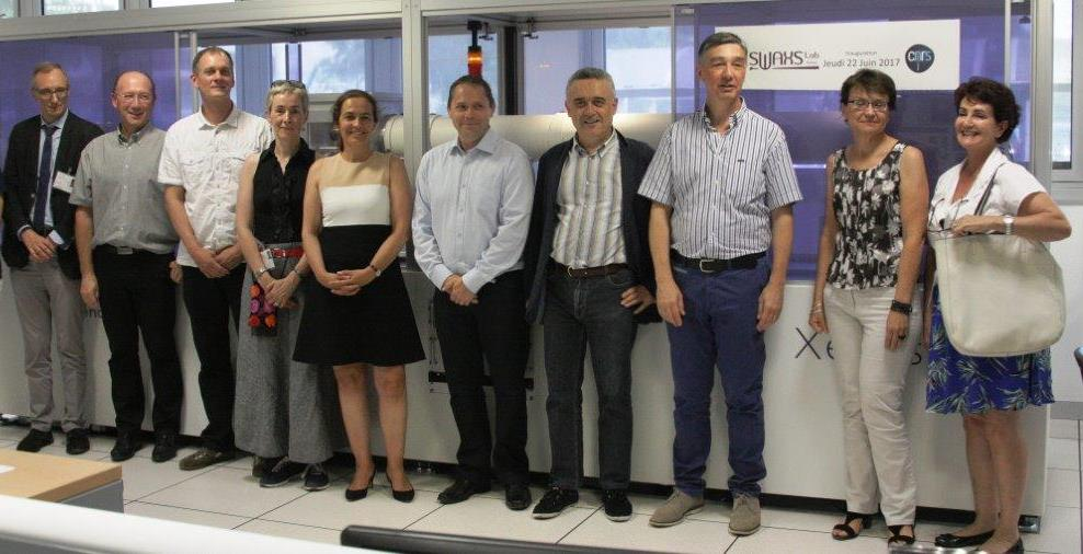 Inauguration du SWAXS-Lab Saclay