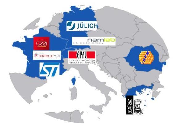 Lancement du projet européen H202-ICT (Information and Communication Technologies) 3ε-Ferro