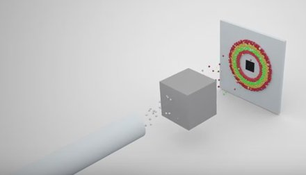 SANS and Residual stress analysis video clip for industry