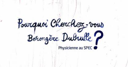 Bérengère Dubrulle :