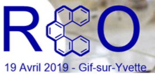 17èmes Rencontres de Chimie Organique 2019  : Prix du poster remis à Louise Ponsard du LCMCE