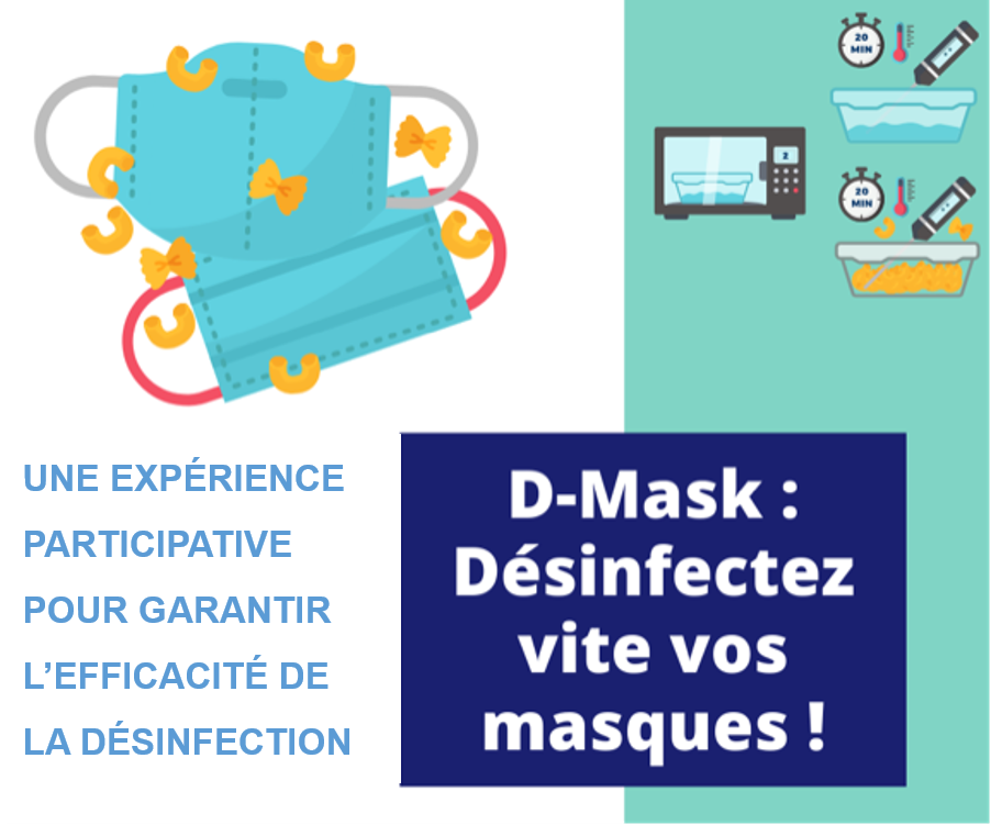 Expérience de Science Participative d-mask