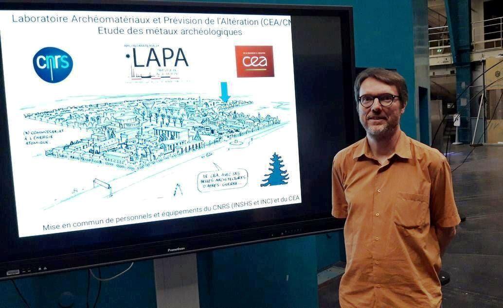 Remise de la Médaille d'Argent 2020 du CNRS à Philippe DILLMANN