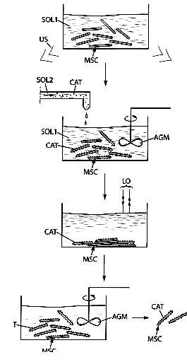 Brevet : Dispersion de matériaux composites, notamment pour des piles à combustible