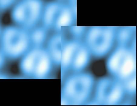 Surface des quasicristaux