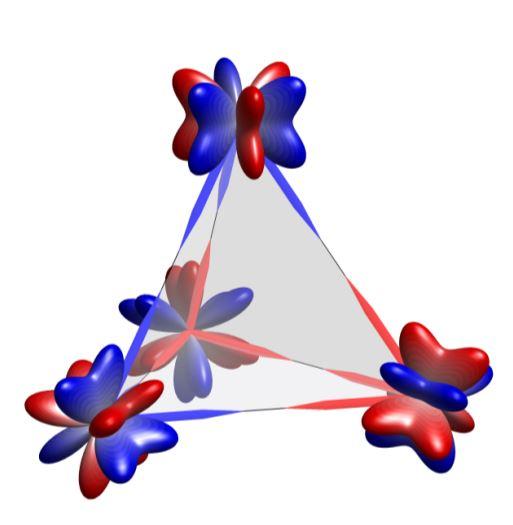 Une glace quantique d'octupoles magnétiques électroniques