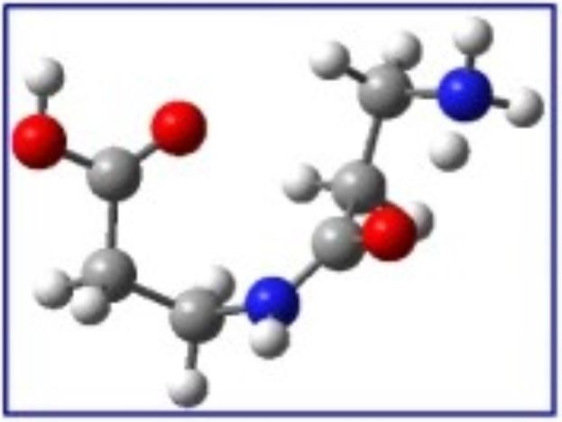 Origine des molécules du vivant : formation de liaisons peptidiques par irradiation ionique
