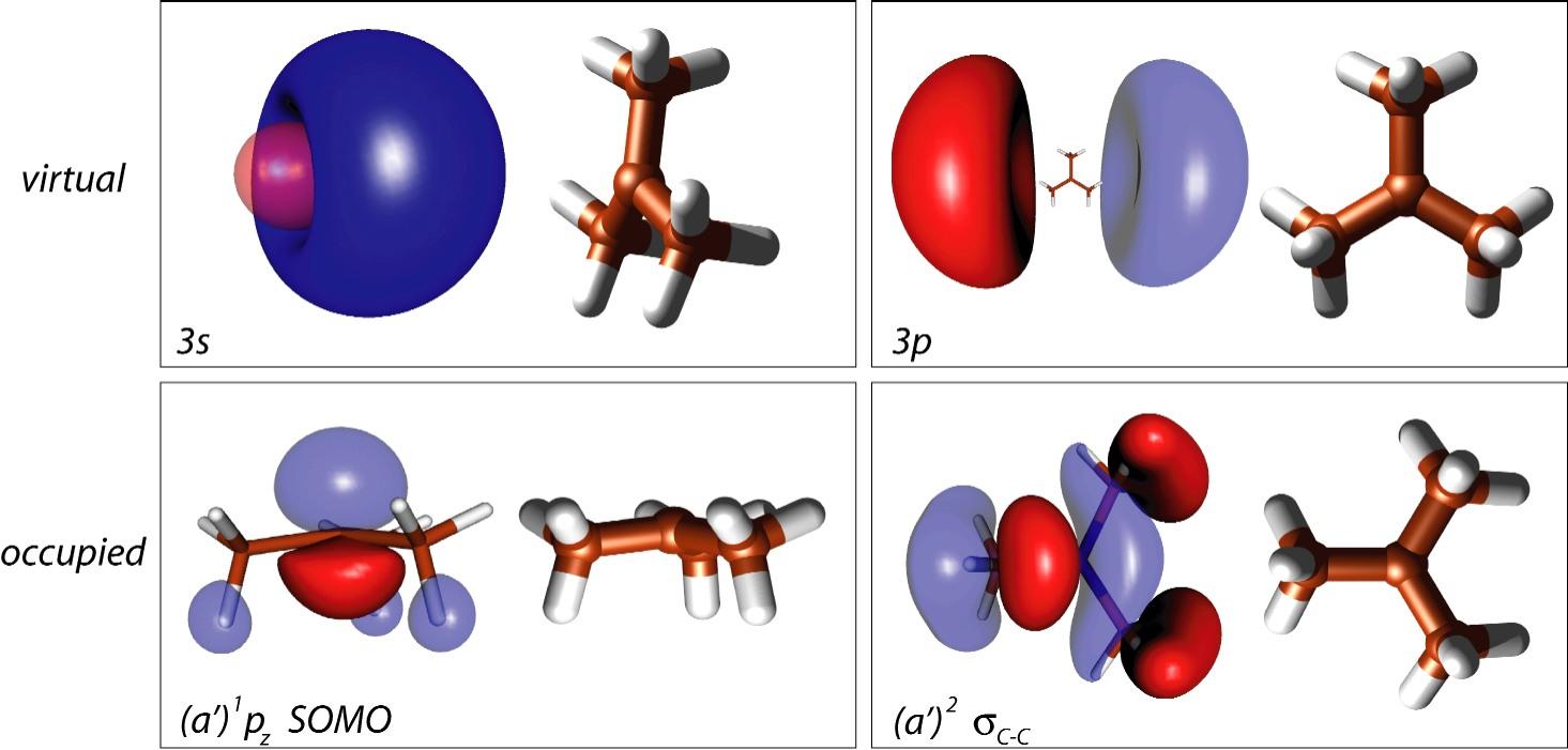Femtosecond Dynamics of the tert-Butyl Radical, t-C<SUB>4</SUB>H<SUB>9</SUB>