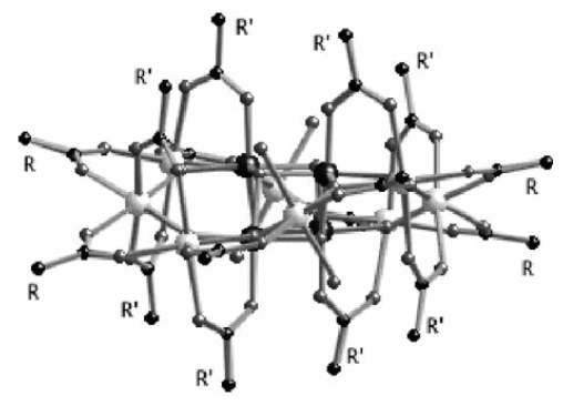 Covalent grafting of molecular magnets on silicon: towards nano-sized memories