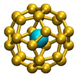 New 32-electrons principle: the case of the An@C28 (An = Th, Pa, U, Pu) family of organometallic compounds