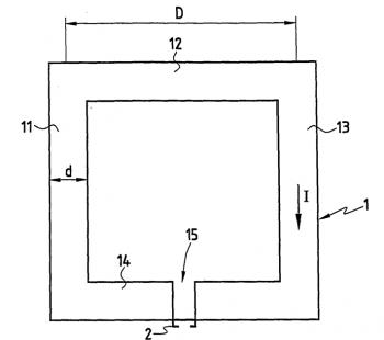 Brevet : Dispositif permettant de de détecter un champ magnétique / Device for sensing a magnetic field