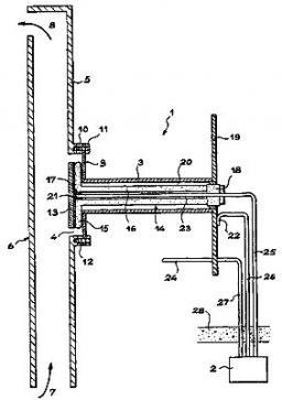 Brevet : Dispositif de mesure de la concentration en hydrogène dans un mélange gazeux