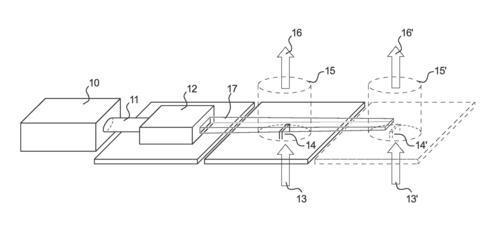 Brevet : Système et procédé de production de poudres nanométriques ou sub-micrométriques en flux continu sous l\'action d\'une pyrolyse laser