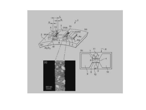 Brevet : Transistor a effet de champ à nanotubes de carbone