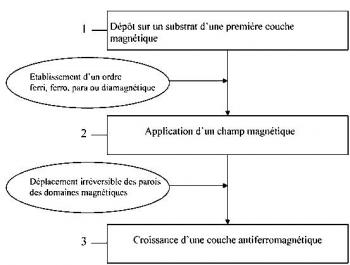 Brevet : Procédé de fabrication d\'une couche d\'un matériau antiferromagnétique à structures magnétiques contrôlées. Process for fabricating a film of an antiferromagnetic material with controlled magnetic structures