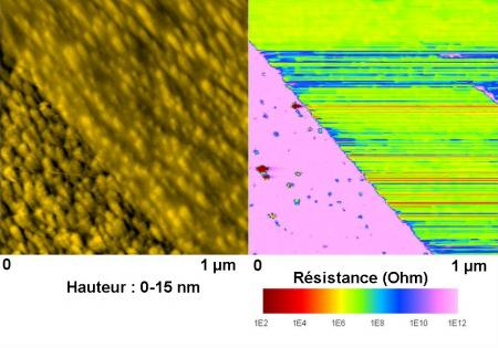 Des surfaces auto-adhésives pour la nanoélectronique (graphène), la chimie ou la biologie