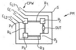 Brevet : Dispositif pour la caractérisation de composants électriques ou électroniques.   Device for characterising electric or electronic components