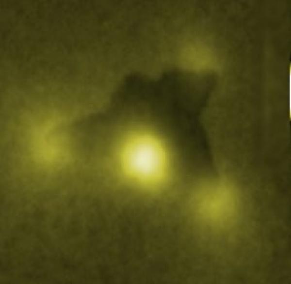 How nano-stars shine?