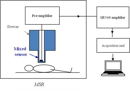 Magnetocardiography with GMR (giant magnetoresistance) sensors