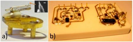 Two in one ! Combined STM-AFM microscopies for mechanics and electronics studies at the molecular scale
