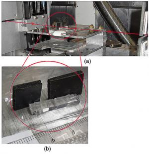 Evidence of deep water penetration in silica during stress corrosion fracture