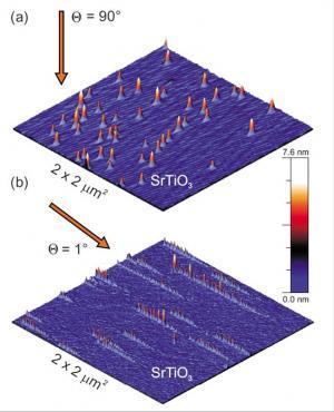 Des ions lourds pour couper et plier le graphène