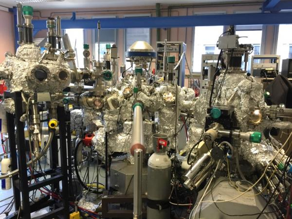 AO-MBE Oxydes à SPEC / LNO