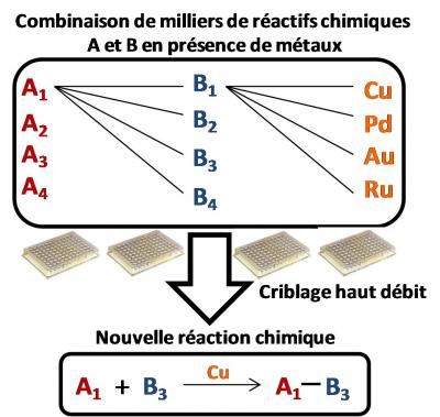 Speed-dating en chimie organique
