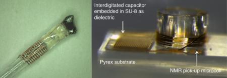 Les micro-détecteurs tournants permettent l''analyse RMN de micro-biopsies