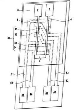 Brevet : Capteur intègre de mesure de tension ou de courant à base de magnétorésistances