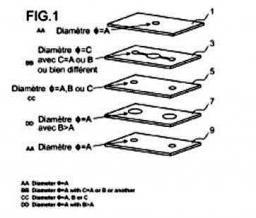 Brevet : Système microfluidique 3d à zones emboîtées et réservoir intégré, son procédé de préparation et ses utilisations