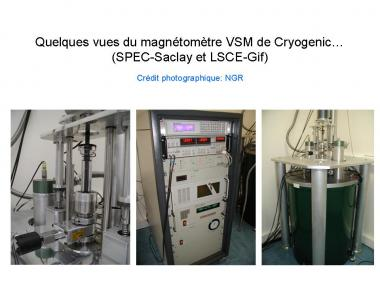 Magnétométrie à échantillon vibrant / Vibrating sample magnetometry