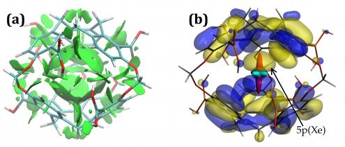 Xe polarisé en cage : une sonde RMN sensible et sélective de son environnement
