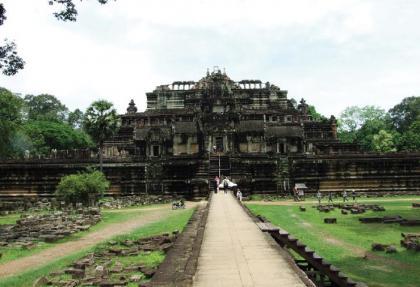 Datation au carbone 14 d'un temple d'Angkor