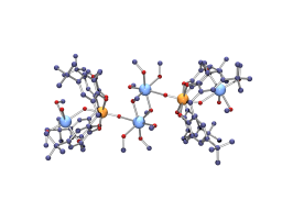 Complexes mixtes d\'ions uranyle et de métaux alcalins avec des homooxacalix[n]arènes (n = 4, 6, 8)