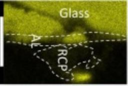 Corrosion long terme  : dégradation du verre nucléaire en présence de produits de corrosion archéologiques