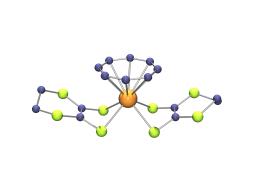 Complexes dithiolènes de l'uranium