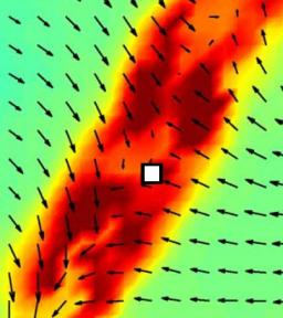 Découverte expérimentale  d'événements extrêmes dissipatifs de l'énergie, à petite échelle dans un écoulement turbulent